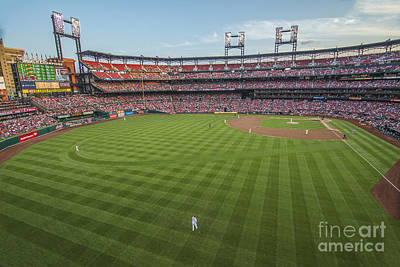Photograph - Busch Stadium Cardinals 3 by David Haskett II