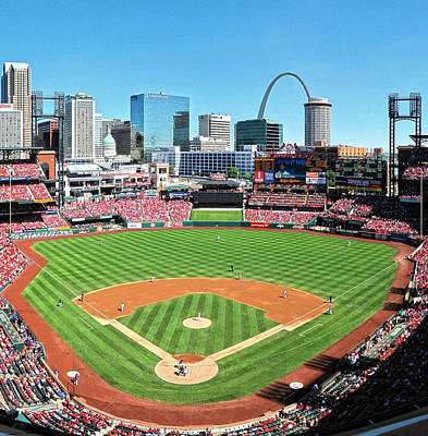 Busch Stadium Sep 29 2013 2 Art Print