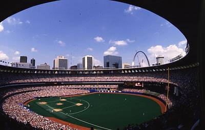 Busch Stadium St. Louis Mo Art Print by Retro Images Archive