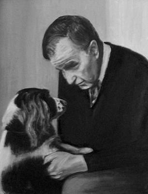 Painting - Bush And Millie by Martha Suhocke