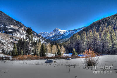 Photograph - Bush Creek Valley by Franz Zarda