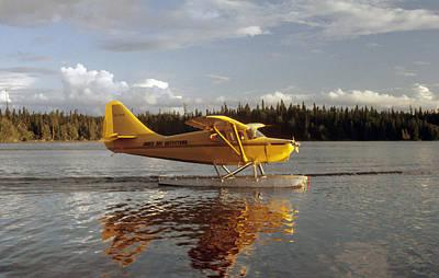 Small Planes Photograph - Bush Plane by Tom Lowes