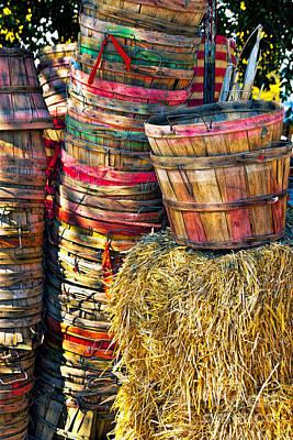 Photograph - Bushel Baskets by Richard Lynch