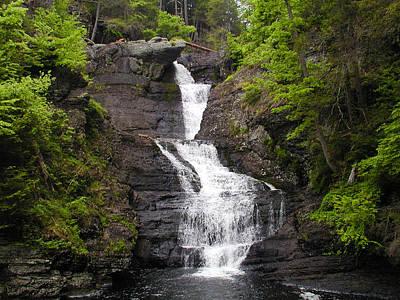 Pennsylvania Waterfalls Photograph - Bushkill Falls - Pennsylvania by Bill Cannon