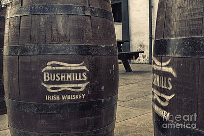 Photograph - Bushmills Whiskey Barrel by Jim Orr