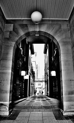 Business Alley - Melbourne - Australia Art Print