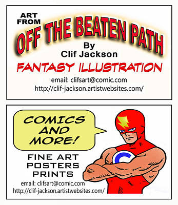 Digital Art - Business Cards by Clif Jackson