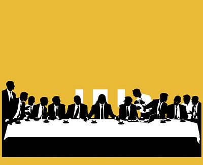 Bankers Photograph - Business Politics by Smetek