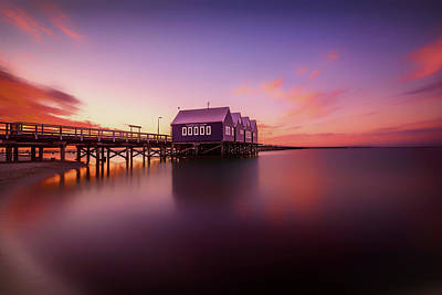 Busselton Photograph - Busselton Sunset by Despird Zhang