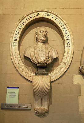 Jonathan Photograph - Bust Of Jonathathan Swift, Dean by Panoramic Images