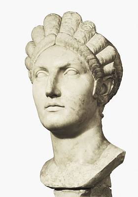 Bust Of Marciana. 1st C. Trajans Art Print by Everett