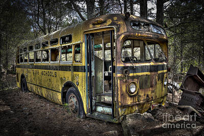 Photograph - Bus'ted by Ken Johnson