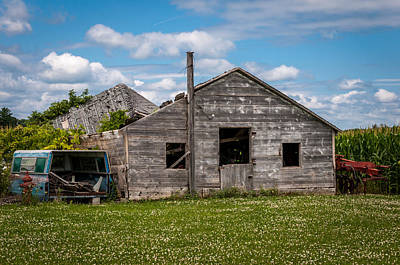 Photograph - Busted On The Farm by Gene Sherrill