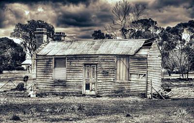 Photograph - Busted Shack by Wayne Sherriff