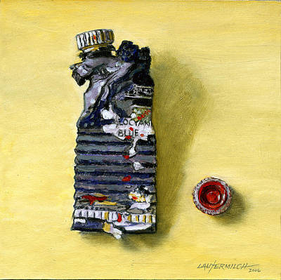 Painting - Busted Tube by John Lautermilch