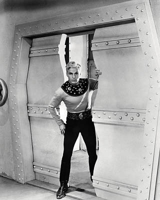Movies Photograph - Buster Crabbe In Flash Gordon  by Silver Screen
