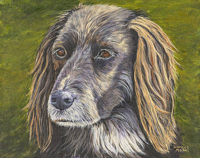 Painting - Buster by Darice Machel McGuire