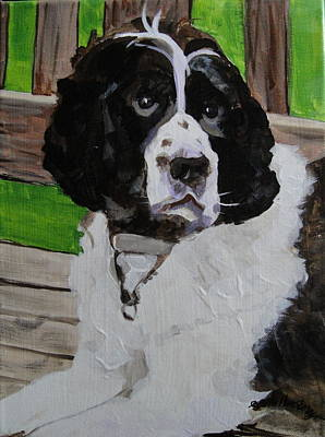 Painting - Buster by Edith Hunsberger