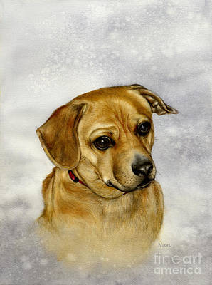 Painting - Buster by Nan Wright