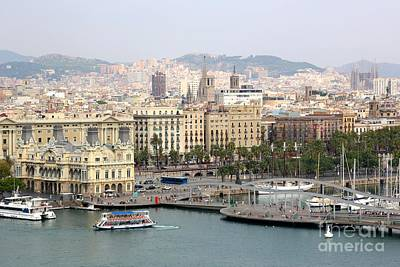 Photograph - Bustling Barcelona by Carol Groenen