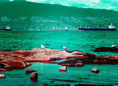 Photograph - Busy Bay 2 by Laurie Tsemak