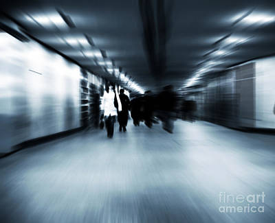 Retail Photograph - Busy Business Center by Michal Bednarek