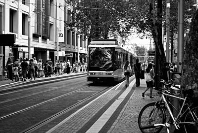 Photograph - Busy Karlsruhe by Marty  Cobcroft