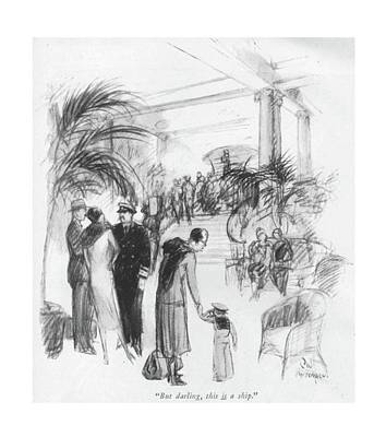 But Darling Art Print by C.W. Anderson