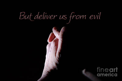 Digital Art - But Deliver Us From Evil by Margie Chapman