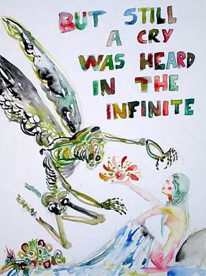 But Still A Cry Was Heard In The Infinite Original by Fabrizio Cassetta