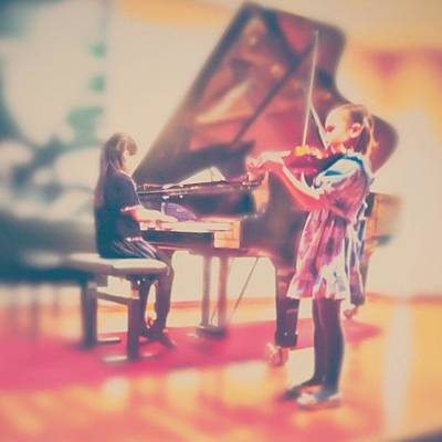 Violin Wall Art - Photograph - ...but They Made It! :)) #girl #concert by Simone Gruber