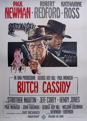 Butch Cassidy And The Sundance Kid Art Print