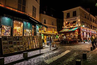 Sacre Coeur Photograph - Bute Montmartre Paris France by Pierre Leclerc Photography