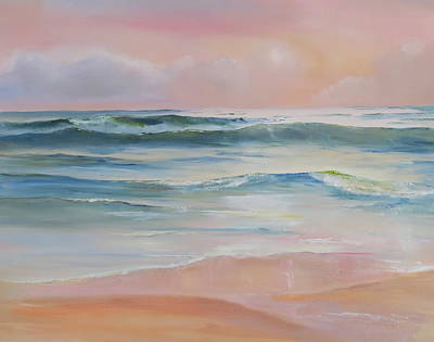 Painting - Butler Beach Morning by Jim Christley
