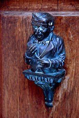 Photograph - Butler Door Knocker by Eric Tressler