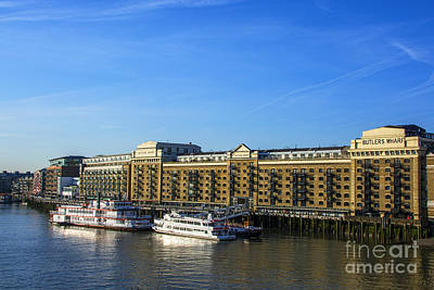 Dr Who Photograph - Butlers Wharf by Chris Thaxter