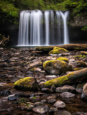 Photograph - Butte Creek Blur by Brian Bonham