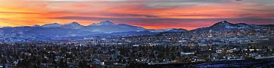 Butte Montana Photograph - Butte Panorama by Scott Wheeler