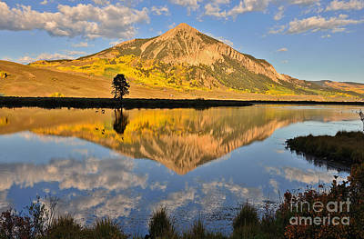 Photograph - Butte Reflection by Kelly Black