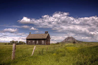 Butte View Art Print by Michele Richter