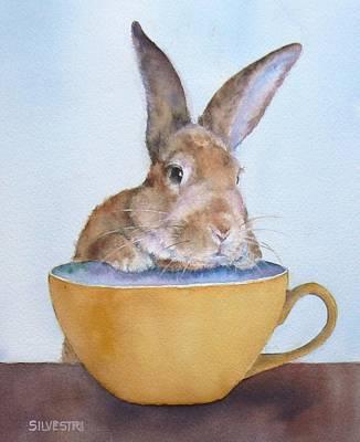 Buttercup Bunny Art Print by Teresa Silvestri