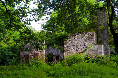 Buttercup Cottage Barn Ruin Art Print by Bill Cannon