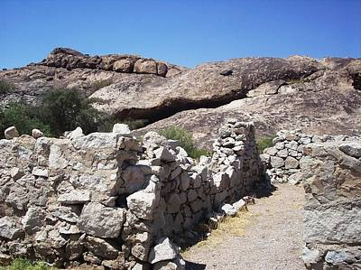 Photograph - Butterfield Station At Hueco Tanks by The GYPSY