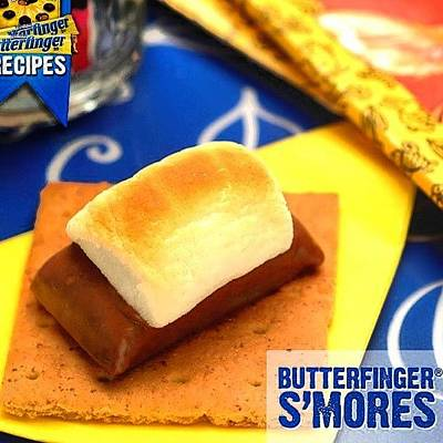 Photograph - Butterfinger Smores #omg #munchies by Brandon Fisher