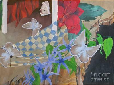 Butterflies In The Breeze Art Print by Richard Dotson