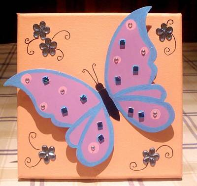 Painting - Butterfly 4 by Anne Gardner