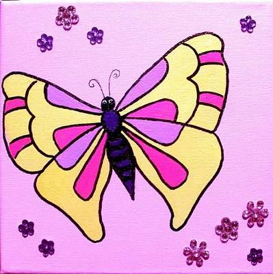 Painting - Butterfly by Anne Gardner