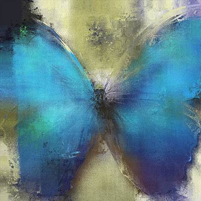 Abstract Realism Digital Art - Butterfly Art - Ab0101a by Variance Collections