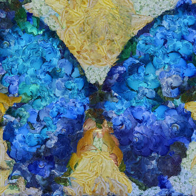 Butterfly Art - D11bb Art Print by Variance Collections