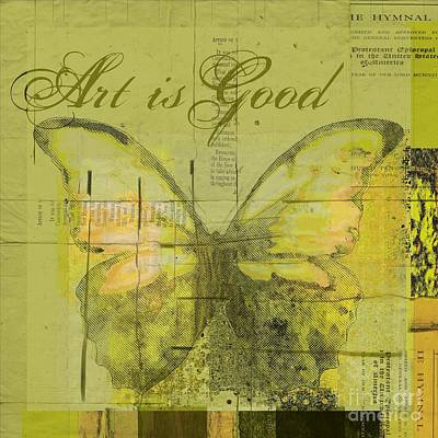 Digital Art - Butterfly Art - Lgy0102a - Art Is Good by Variance Collections